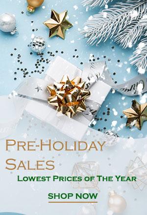 Pre-Holiday Sales